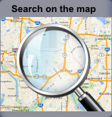 Search on the map